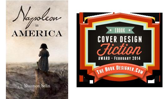 Napoleon in America e-Book Cover Design Award for Fiction