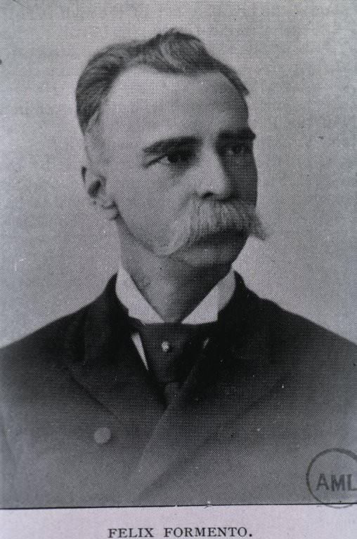 Dr. Félix Formento Junior (1837-1907). Perhaps Formento Senior (1790-1888) looked similar.
